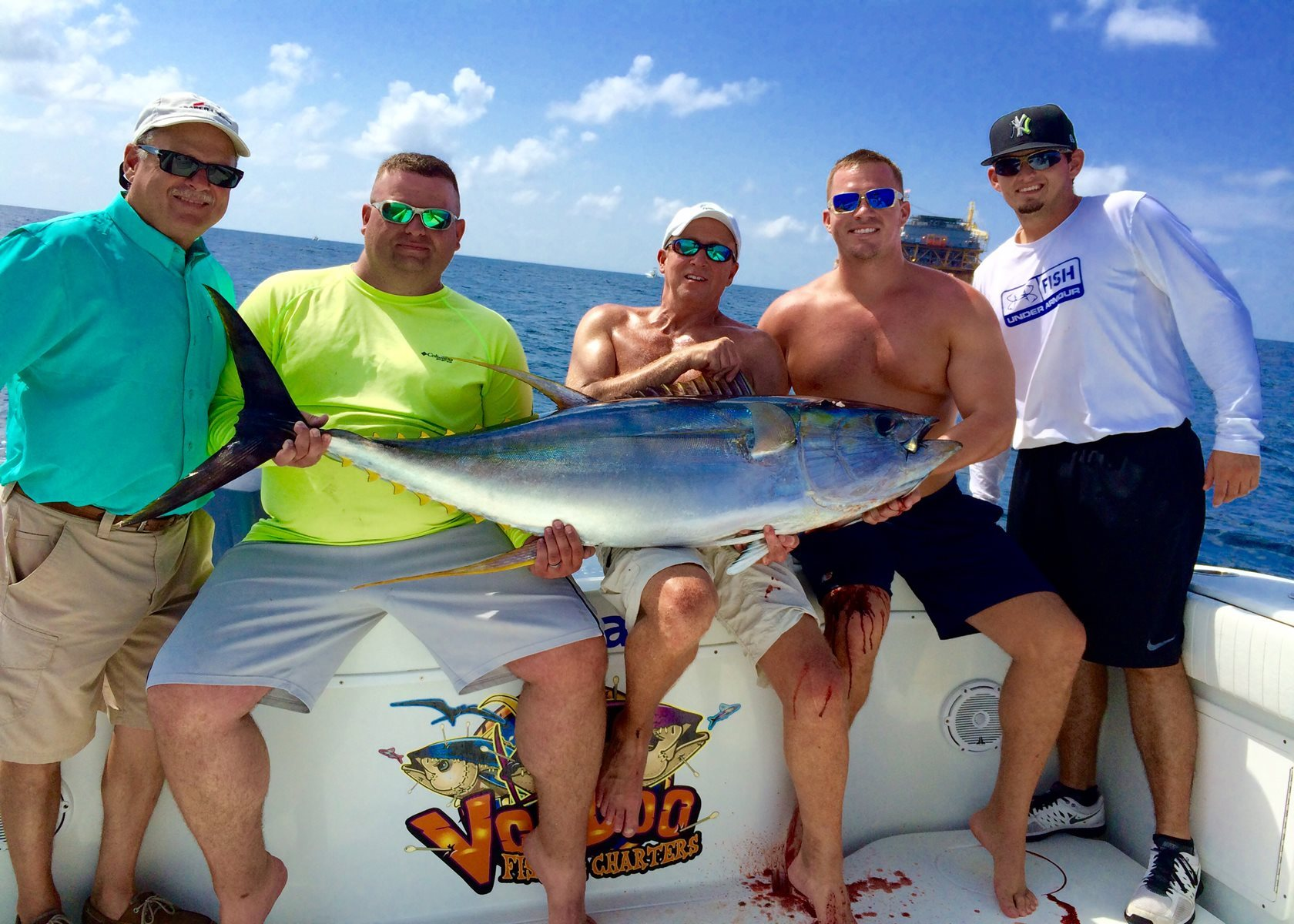 Voodoo Fishing Charters Deep Sea Offshore Tuna Fishing
