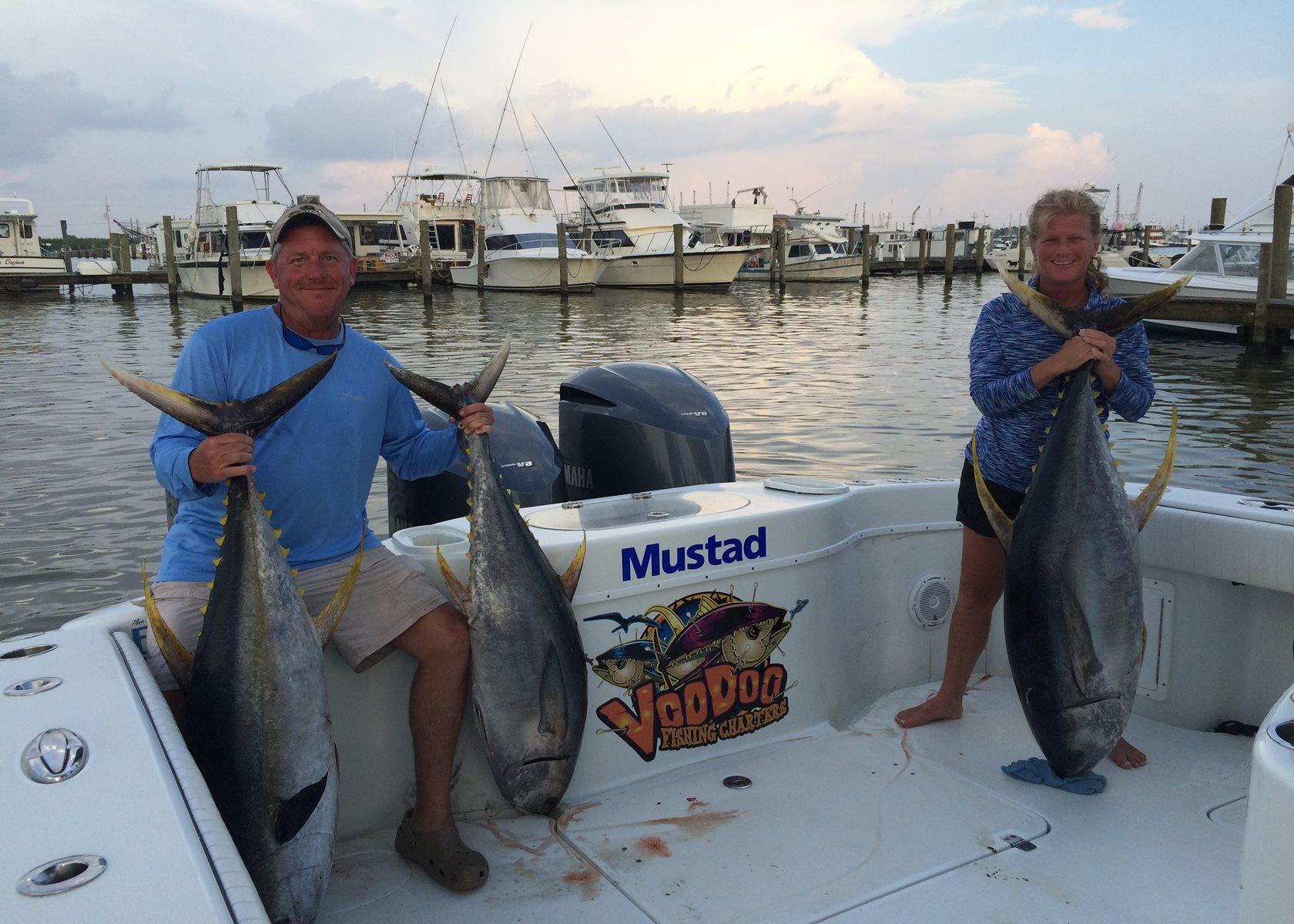 Venice offshore tuna fishing charters louisiana 42 for Tuna fishing trips